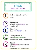 I PICK Good Fit Book Poster - Editable