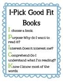 I PICK Good Fit Books
