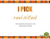 I PICK Revisited
