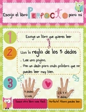 """I PICK Spanish """"Choosing the Right Book"""" poster"""