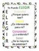 I PICK charts Spanish