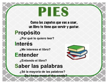 I PICK in Spanish (PIES)