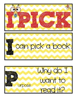 I Pick Poster - bees