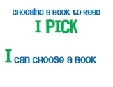 I Pick (a chapter book)