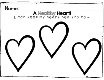 I Pledge To Have A Healthy Heart!