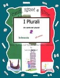 Teach Italian  Plurals (I Plurali) with This Rap-like Chant and MP3