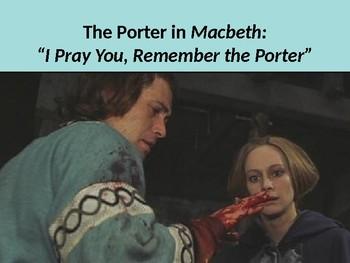 I Pray You, Remember the Porter