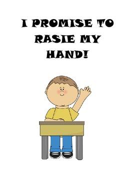 I Promise... A Classroom Rules Book