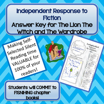 I.R.F Answer Key for The Lion The Witch and The Wardrobe