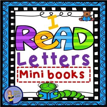 I READ Alphabet Letters Minibooks