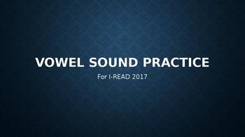 I-READ Middle/Vowel Sound Practice
