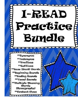 I-READ Practice Pack #1:  Daily Word Warm Up