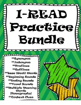 I-READ Practice Pack #2: Daily Word Warm Up
