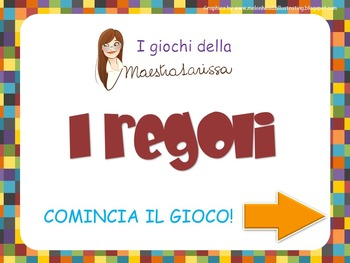 I REGOLI - videogioco