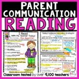 Reading Conference Form | Parent Teacher Forms