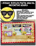 I-Ready, IXL, and Reflex Math Incentive Board