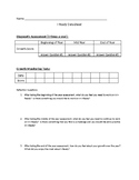 I-Ready Student Data Sheet