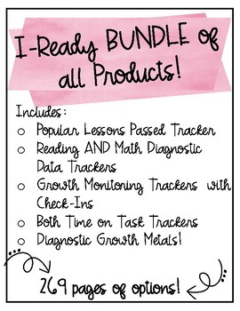 I-Ready ULTIMATE Bundle! {Includes ALL iReady items avaliable in my store!}