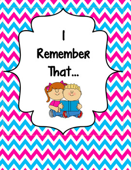 I Remember That