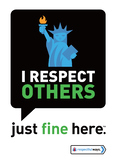 Social Emotional Learning | I Respect Others | Classroom management signs