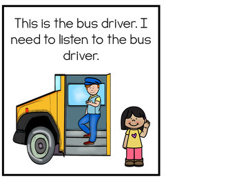 Bus Rules Adapted Books and Activities