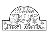 I Rocked the First Day Crown