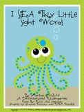 I SEA Tiny Little Sight Words-A Differentiated I Spy Sight Word Unit