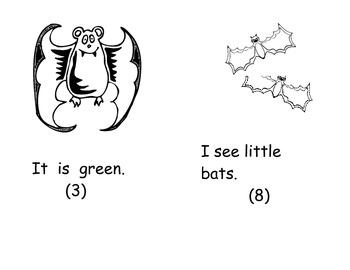 I SEE BATS WORD BOOK- WEEK 6