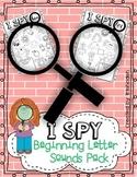 I SPY: Beginning Letter Sounds