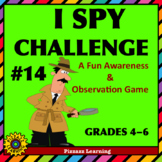 I SPY CHALLENGE #14 • A Fun Awareness and Observation Game