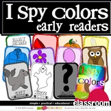 I SPY COLORS EARLY READER FLASH CARDS