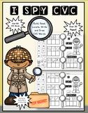 I SPY CVC: Short Vowel Word Practice