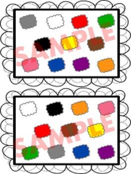 I SPY (Color and Shape Mats)
