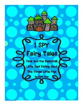 I SPY Fairy Tales