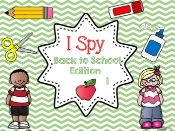 I SPY Fall Back to School Sight Word Games