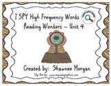 I SPY High Frequency Words - 1st Grade Reading Wonders Unit 4