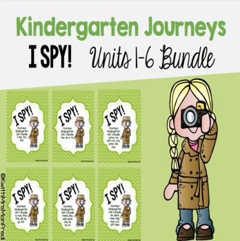 I SPY! Kindergarten Journeys Unit 1-6 - Bundle