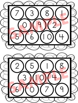 I SPY (Number Recognition, Counting, Addition to 5)