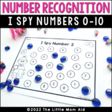 I SPY 0-10 Number Recognition Worksheets