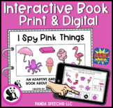 I SPY Pink Things Interactive Book: Print and Digital Versions Included