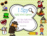 I SPY Sight Word Games {over 35 differentiated games!} BUNDLED