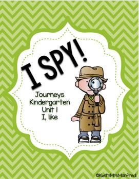 """I SPY! Unit 1 """"I like"""""""