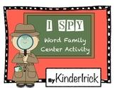 I SPY Word Family Center