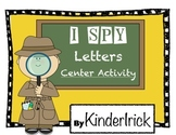 I SPY Letters Center Activity