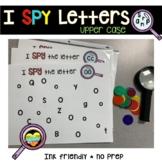 I SPY alphabet letter hunt