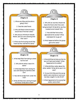 I SURVIVED Series by Lauren Tarshis - Discussion Cards