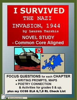 I SURVIVED THE NAZI INVASION, 1944: Common Core Aligned