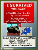 I SURVIVED THE NAZI INVASION, 1944: Common Core Aligned