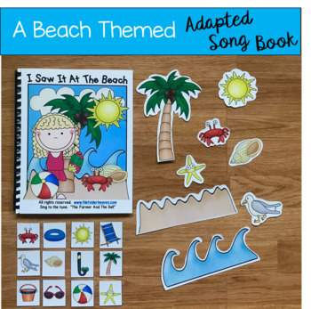 "Summer Free:  ""I Saw It At the Beach"" Adapted Book"