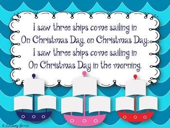 I Saw Three Ships: a Traditional Christmas Carol from England